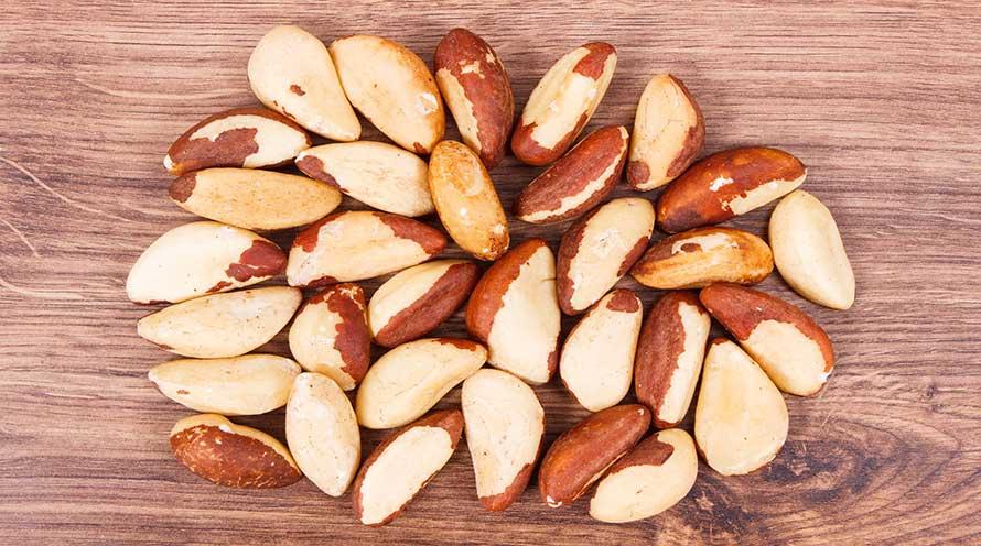 Nueces de Brasil ecológicas