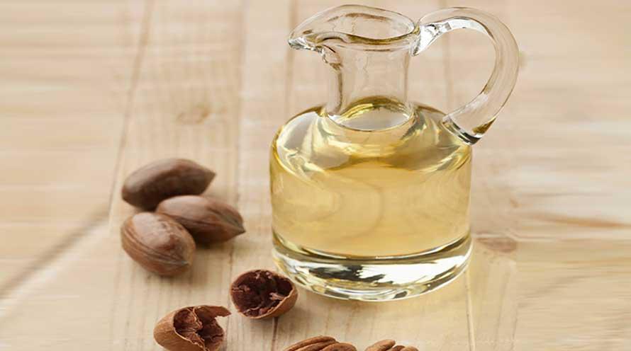 Aceite con nueces ecologicas