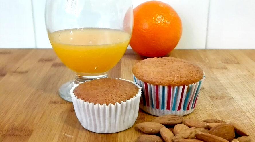 magdalenas de naranja con harina de almendras (7)